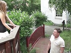 Cash Fuck Old and Young Outdoor Seduced