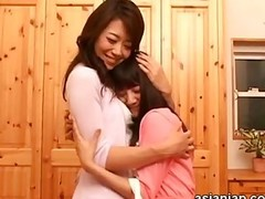 Hot Japanese Juicy Kiss Lesbian