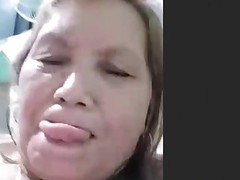 Amateur Filipina Granny Kiss Mammy